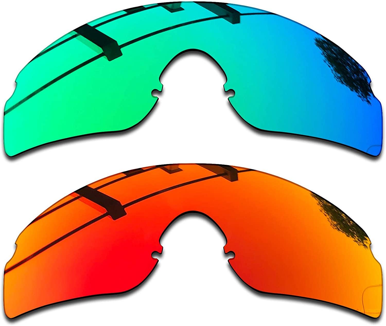 SEEABLE Premium Polarized Mirror Replacement Lenses for Oakley RazorBlades Sunglasses