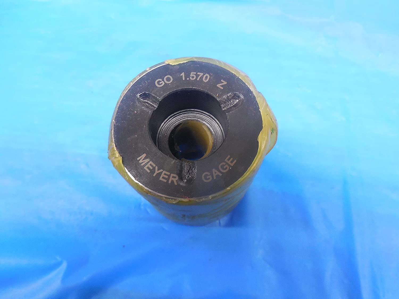 1.5700 Class Z PIN Plug GAGE 1.5625 +.0075 Oversize 1 9/16 39.878 mm 1.57 1.570