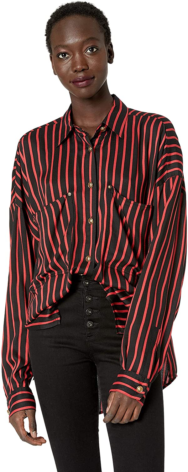 The Kooples Women's Women's Striped Gianni Button-Down Blouse