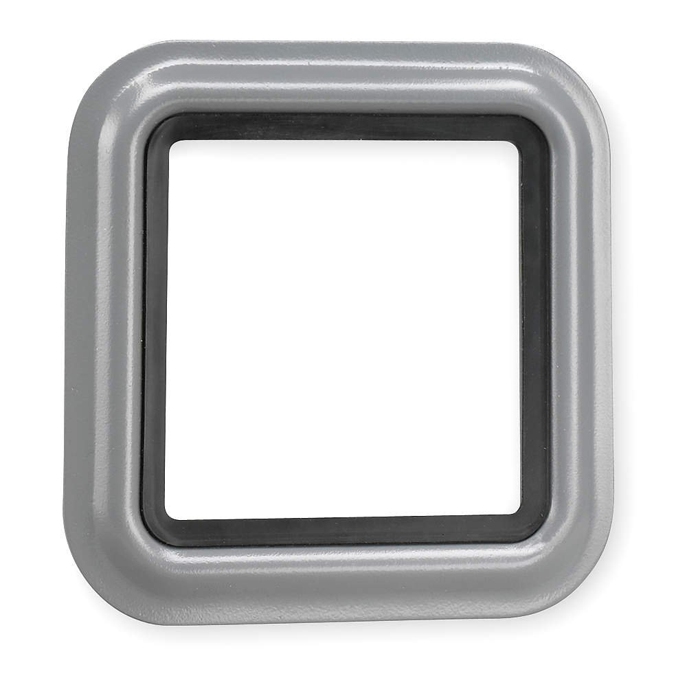 Federal Signal Gasketed Trim Ring, Gray