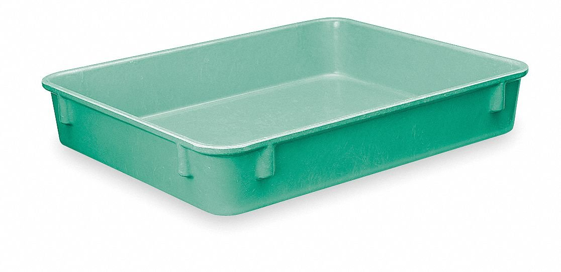 Nesting Container, 9 7/8 In L, 2 In H