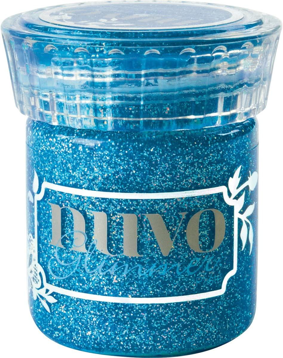 Tonic Studios Glimm Nuvo Glimmer Paste-Sapphire Blue, None