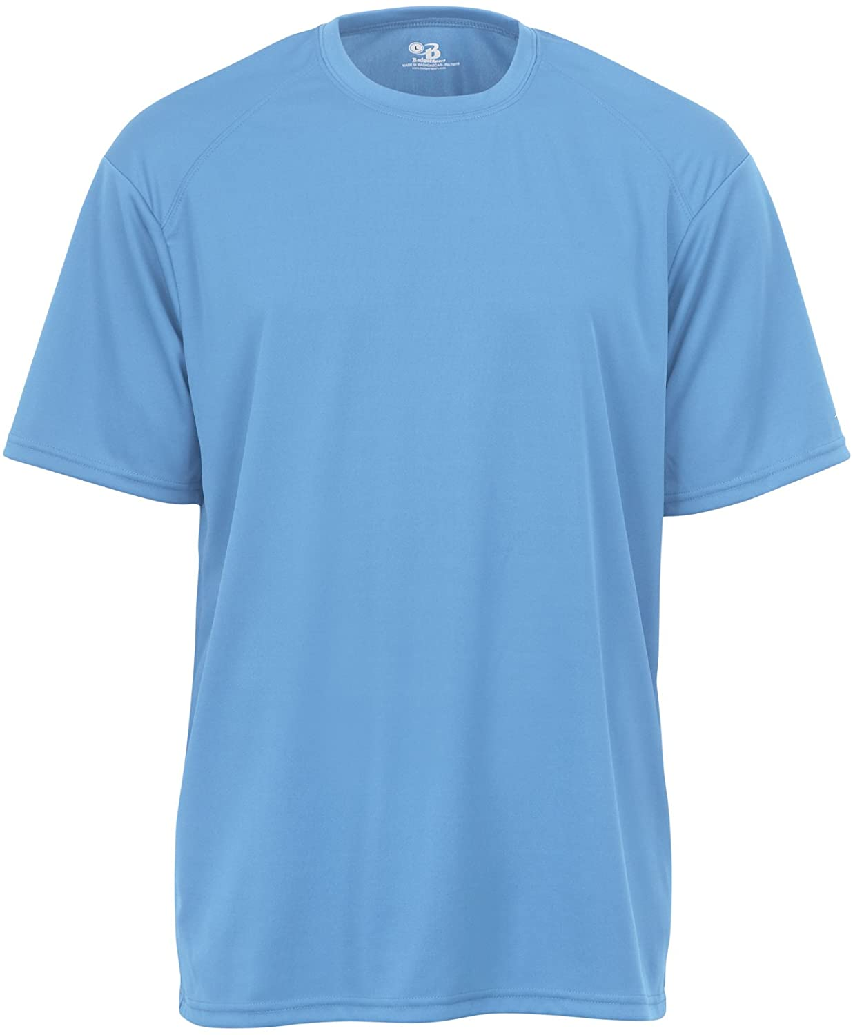 Badger Sportswear Men's B-Dry Tee, Columbia Blue, Large