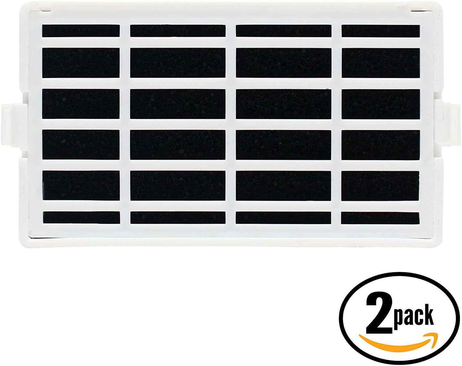 2-Pack Replacement for KSF26C4XYW03 Refrigerator Air Filter - Compatible with KitchenAid W10311524 AIR1 Fridge Air Filter