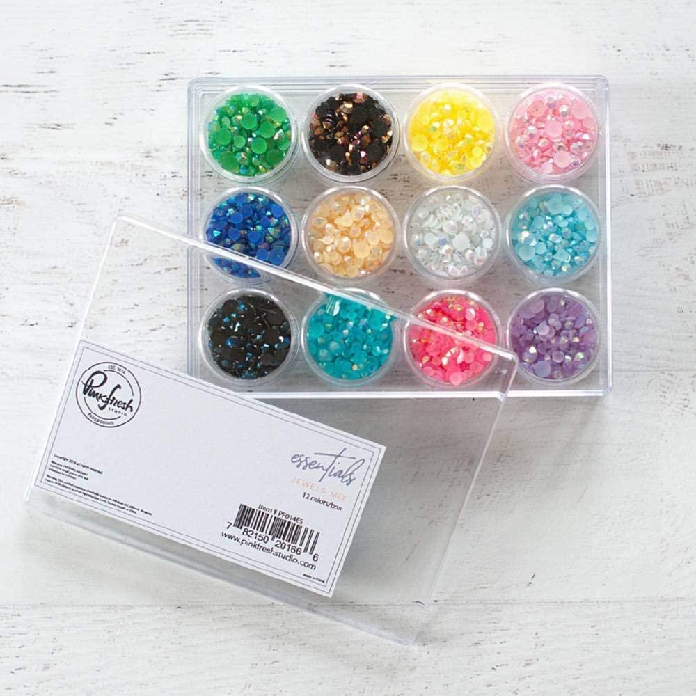 Pinkfresh Studio Pinkfresh Jewel Essentials-12 Colors, Multi