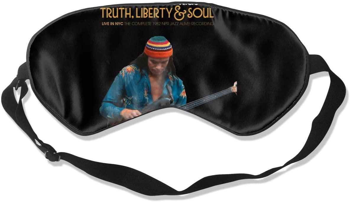 8rwwpJgr Jaco Pastorius Unisex Fashion Sleep Eye Mask Soft Comfortable with Eye Mask Adjustable Headband