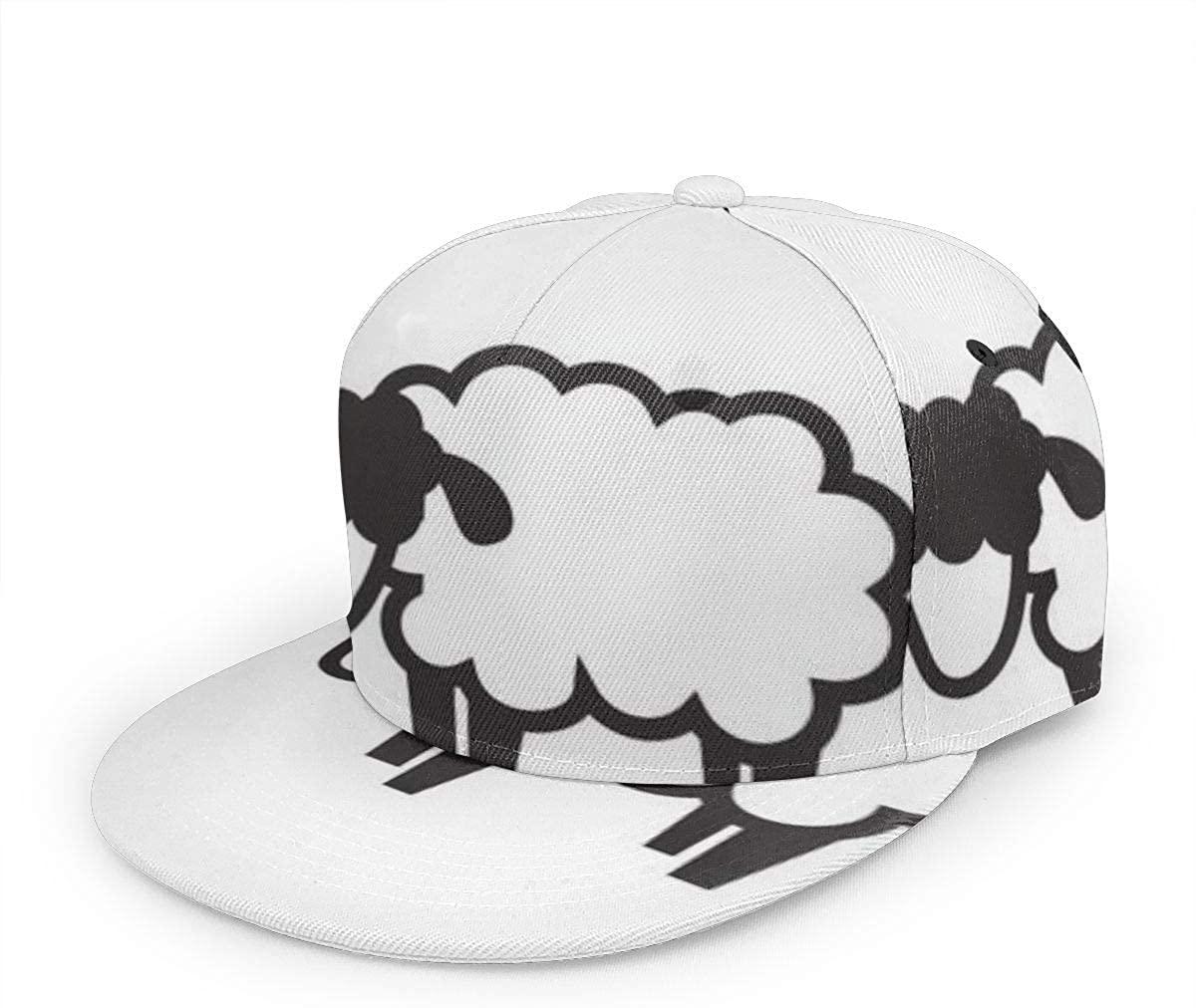 Black Sheep Icon -Unisex Baseball Cap Printed Fashion Sport Pop Baseball Cap
