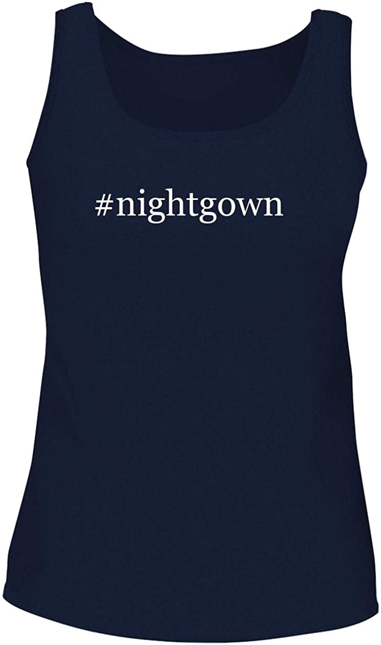 #nightgown - Women's Soft & Comfortable Hashtag Tank Top