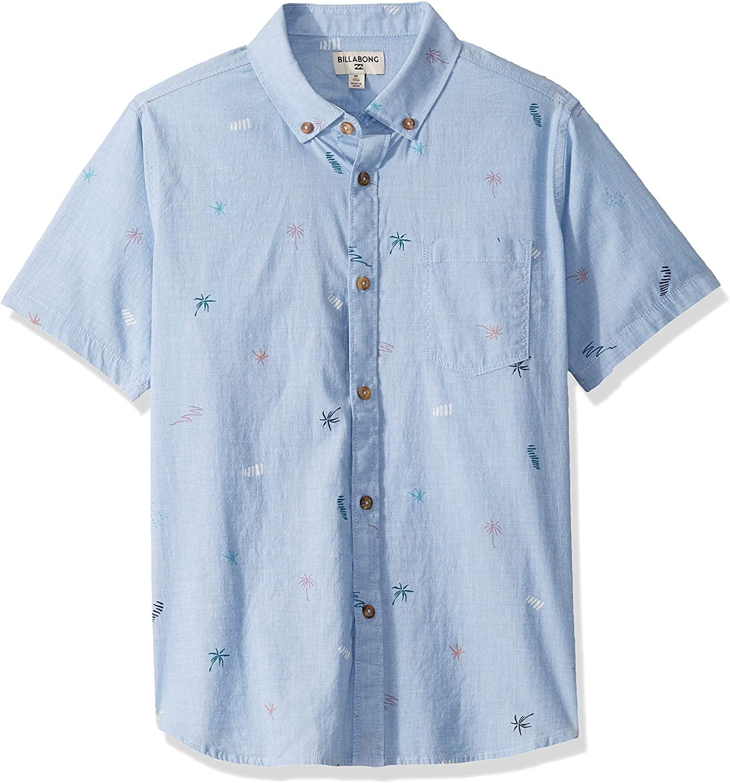 Billabong Boys' Sundays Mini Short Sleeve Shirt