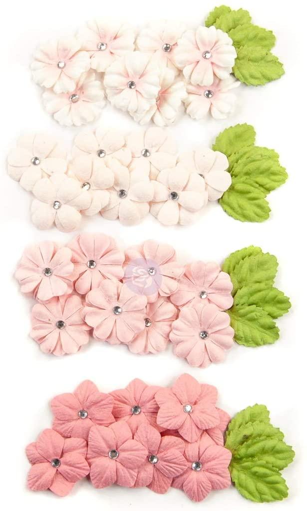 Prima Marketing Mulberry Paper Flowers-Fruity Love/Fruit Paradise, 48/Pkg