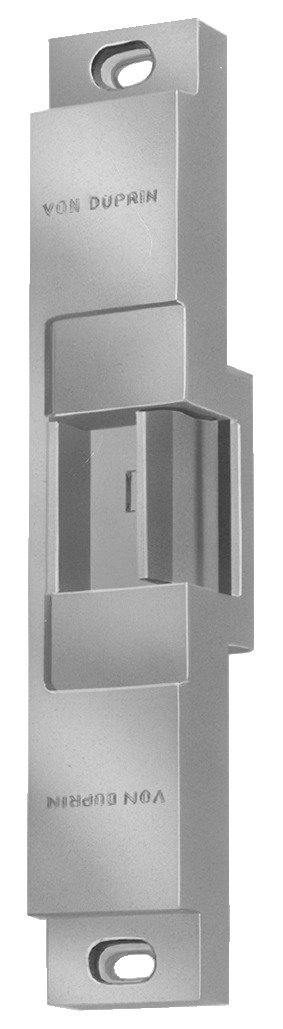 Von Duprin 6112 FSE 24VDC US32D Heavy-Duty Electric Strike for Rim Exit Device, 24VDC, Stainless Steel Finish
