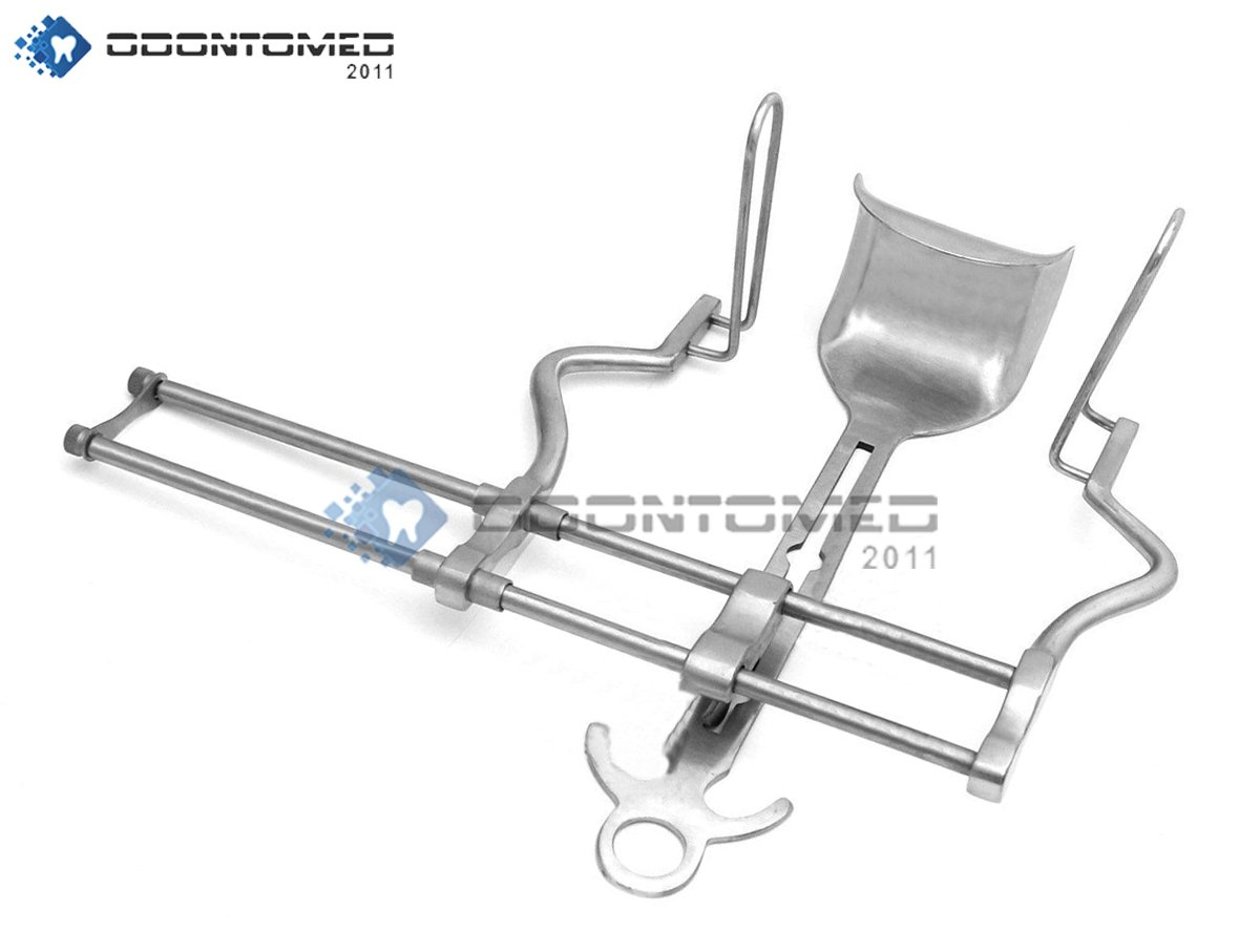 OdontoMed2011 Balfour Abdominal Retractor 7 Spread Stainless Steel