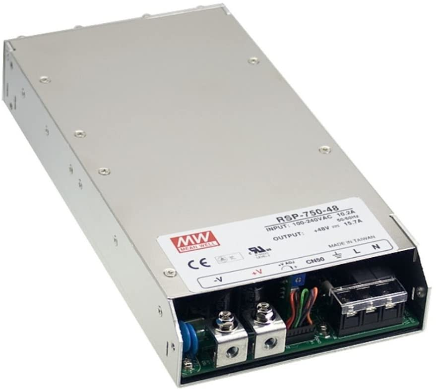 Programmable 750W 12V 62.5A RSP-750-12 Meanwell AC-DC Single Output RSP-750 Series MEAN WELL Switching Power Supply