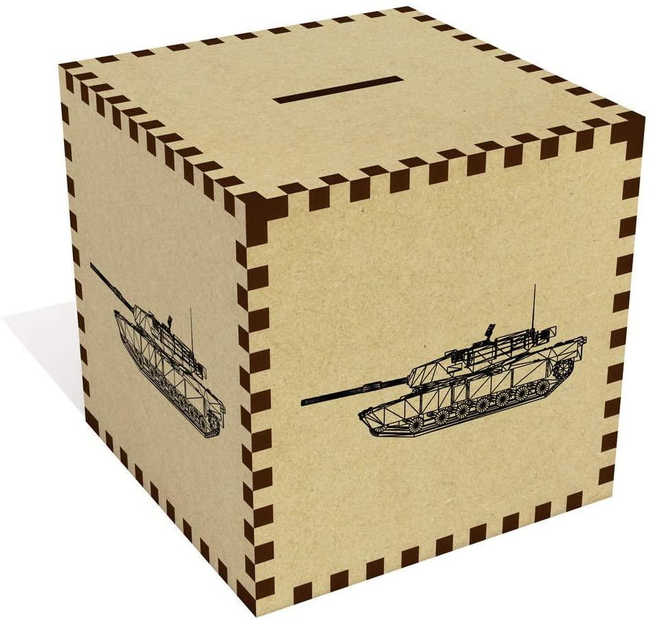 Azeeda Large Wire Frame Tank Money Box / Piggy Bank (MB00038220)