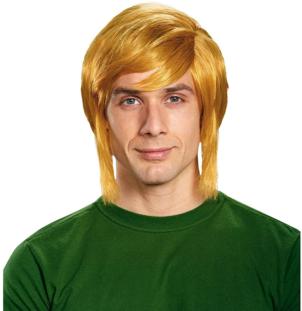 Disguise Men's Link Adult Costume Wig