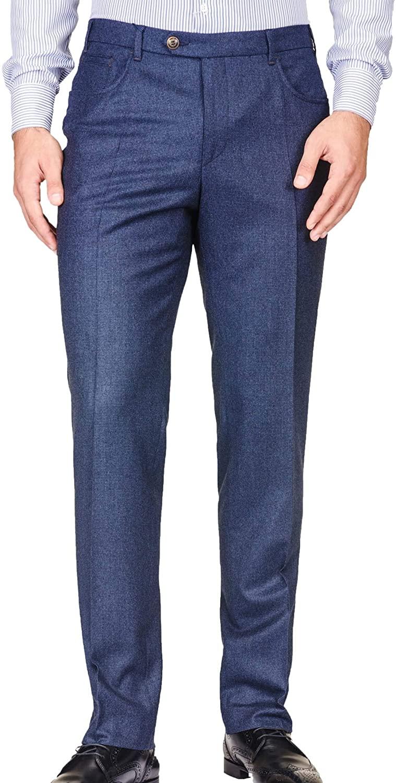 Pants & Slacks Style no. 16036 Metallic Blue Superfine Wrinkle Resistant All Year