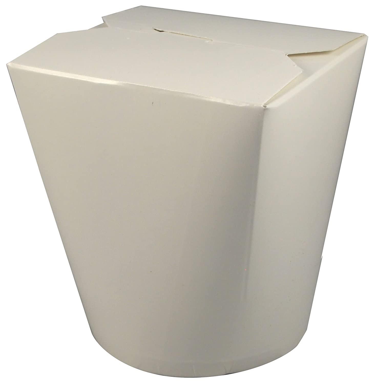 Fold-Pak SmartServ 32SSPLAINM One Color Print Plain Paper Container, 3-5/8
