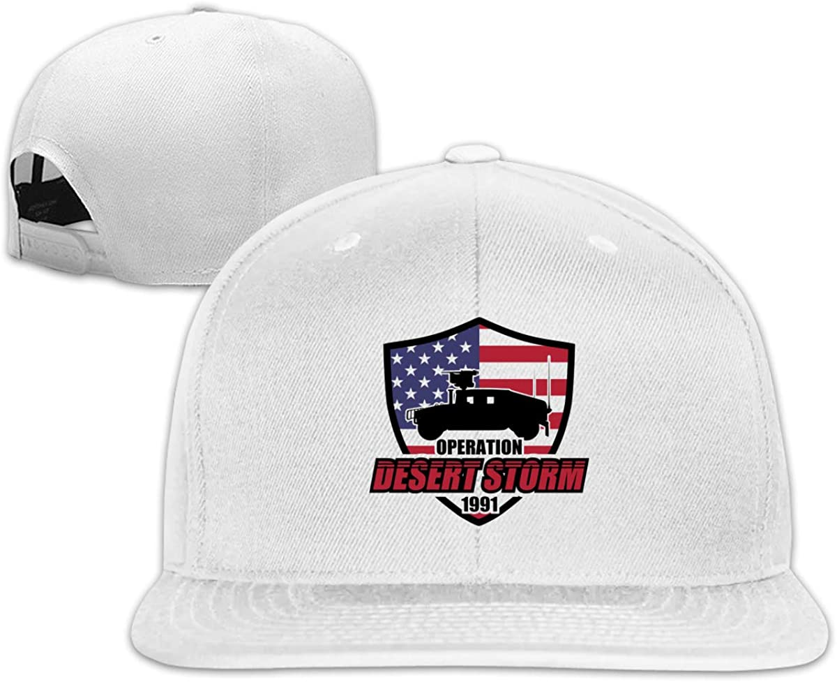 Desert Storm Flag Women Boy Classic Pointed Cap Cap