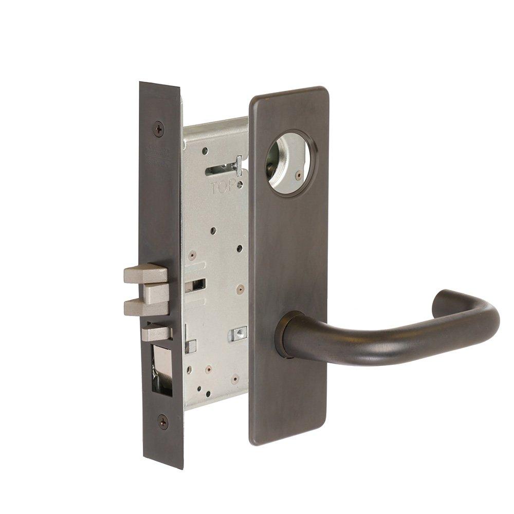 CORBINRUSSWIN ML2051-LWM-613-LC 613 Oil Rubbed Dark Bronze, Lever LWM Lustra, Entrance/Entry/Office, Steel; Stainless Steel; Bronze