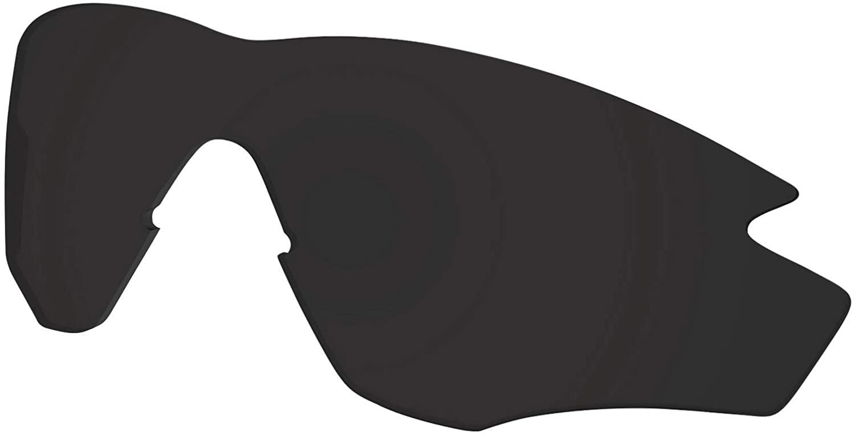 Polycarbonate Lenses Replacement for Oakley M2 Frame Sunglass Frame - Dark Black