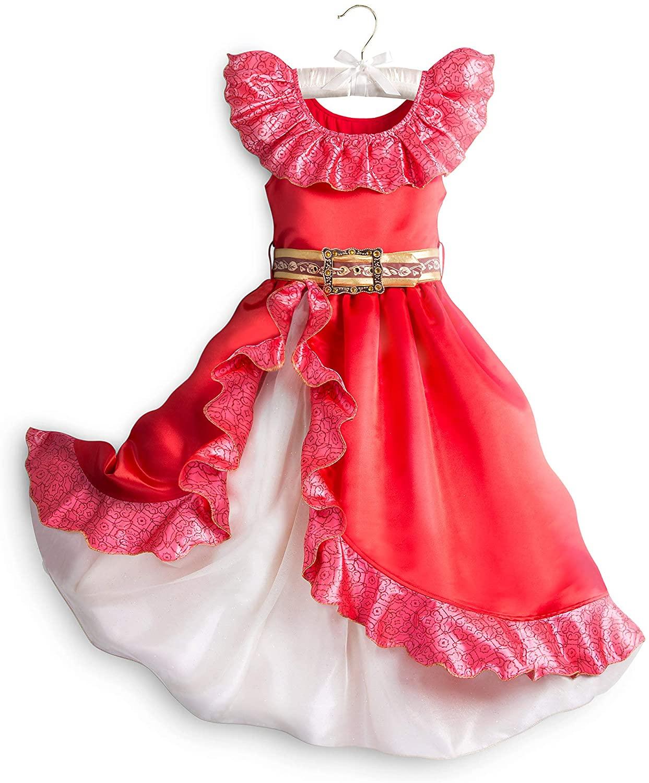 Disney Elena of Avalor Costume for Kids Red
