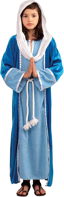 Forum Novelties Biblical Times Deluxe Mary Costume, Child Medium
