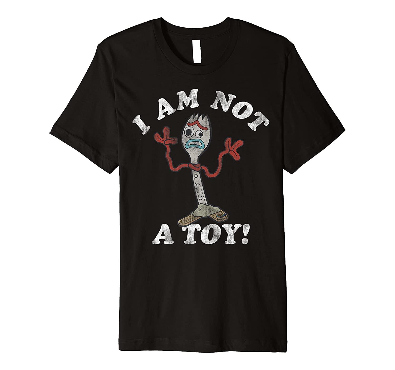 Disney Pixar Toy Story Forky I Am Not A Toy Premium T-Shirt