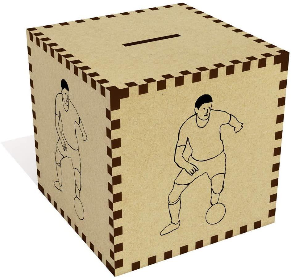 Azeeda Large 'Footballer' Money Box / Piggy Bank (MB00070698)