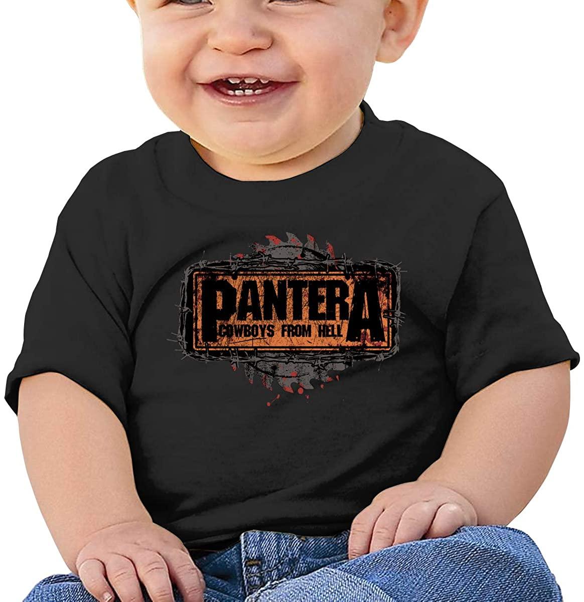 AP.Room Short-Sleeved Diverse Durable Comfortable Shirt Pantera Baby T-Shirt
