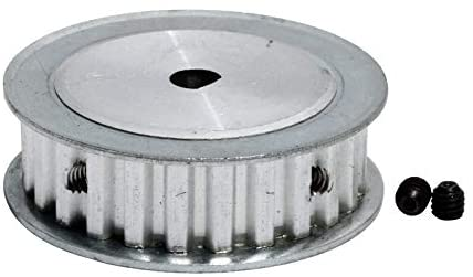 Nologo WYX-TONGBUDAI, 1pc XL-25T Timing Belt Pulley 11mm Belt Width D Bore Transmission Pulley 54.5/65/87/87.5/109mm 25Teeth Synchronous Gear Pulley (Size : 6x5mm)