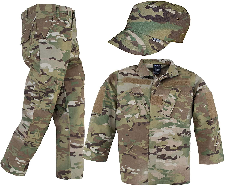 Kids Multicam Uniform 3 Piece Set