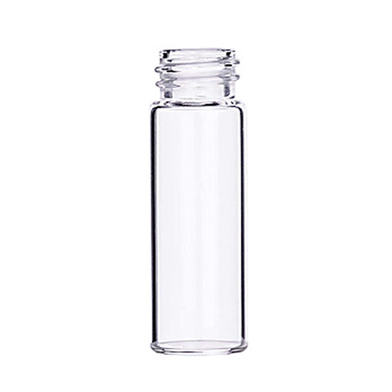 Microliter 15-2000 Shell Vial, Amber, 4 ml Capacity (Pack of 100)