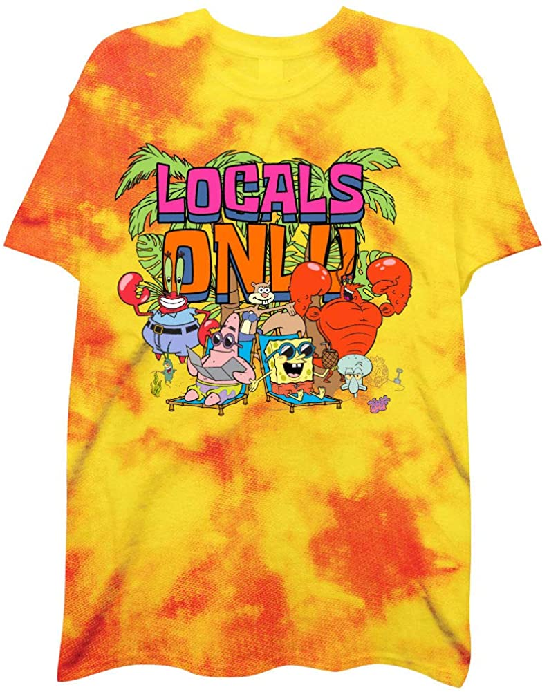 Mens Spongebob Squarepants Shirt - Spongebob Tee - Classic Swag T-Shirt