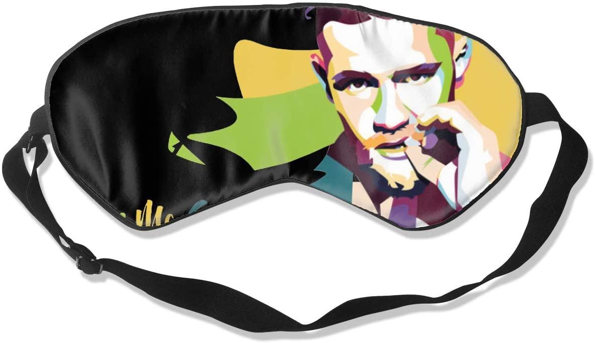 Ktdbthut Conor McGregor Fashion Sleep Eye Mask Soft Comfortable Unisex with Eye Mask Adjustable Headband