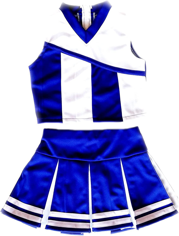 Little Girls' Kids Cheerleader Costume Uniform Cheerleading Children Dress Outfit