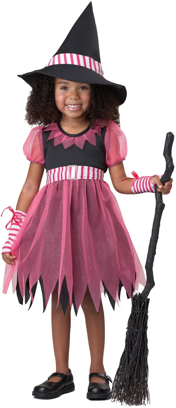California Costumes Pinky Witch Costume, 3-4