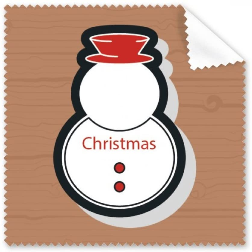 Christmas Snowman Christmas Icon Cleaning Cloth Phone Screen Glasses Cleaner 5pcs