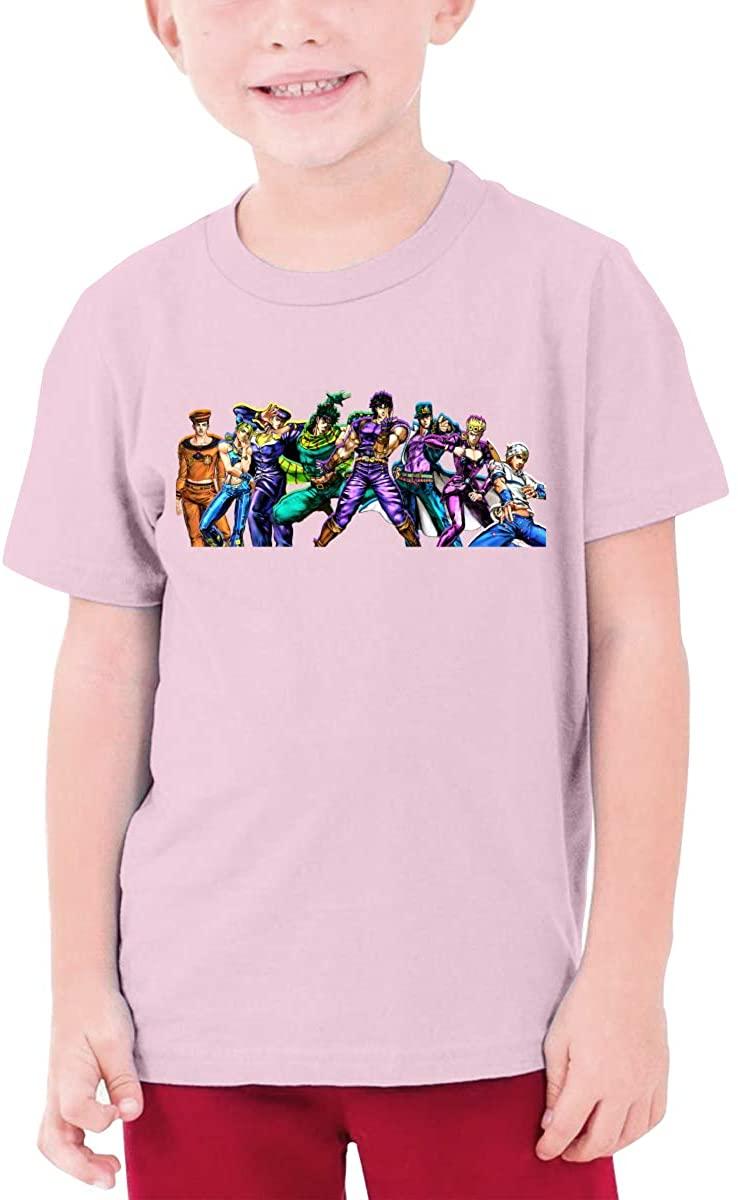 Youth Jojos Bizarre Adventure Teen Boys Teens Custom T-Shirt, Fashion Shirt for Boys and Girls