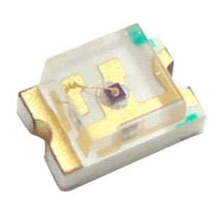 DIALIGHT 597-5111-407F 597 Series Red 1.3 x 1.25 mm 140º 11.7 mcd 1.7 V Case 0805 LED Surface Mount - 50 Item(s)