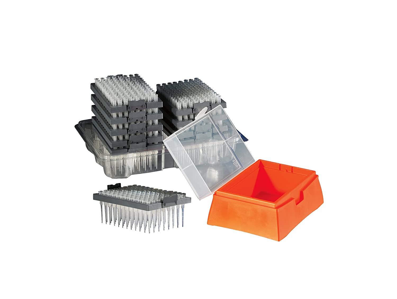 Corning DeckWorks Polypropylene Natural Nonsterile Pipet Tip Station, 0.1-10 µL Volume Range (Case of 4800)