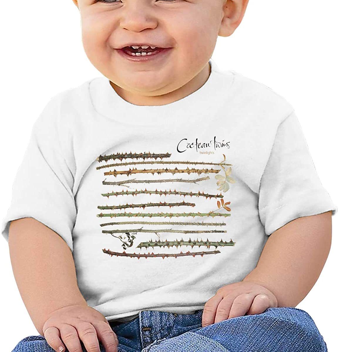 Kangtians Baby Cocteau-Twins-Twinlights- Short Sleeve Shirt Toddler Tee