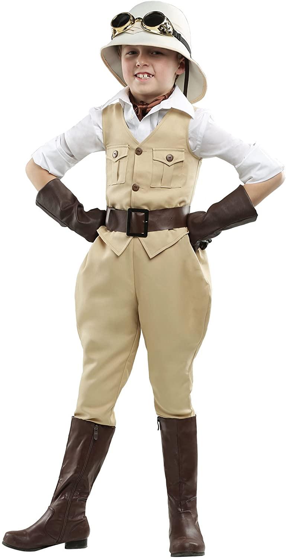 Safari Hunter Boys Costume Large