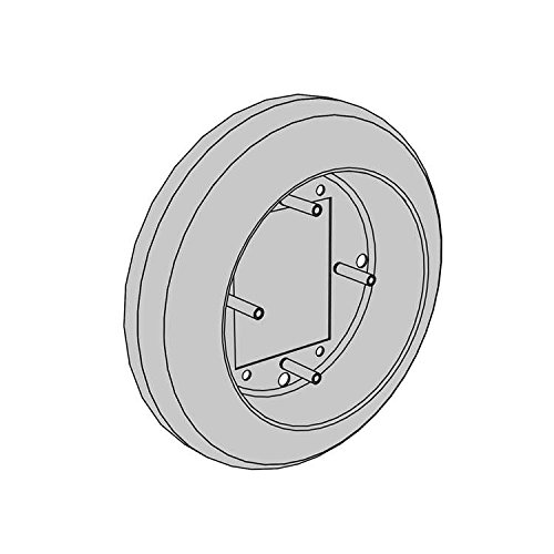 LCN 8310874 8310-874 Escutcheon, 4.5