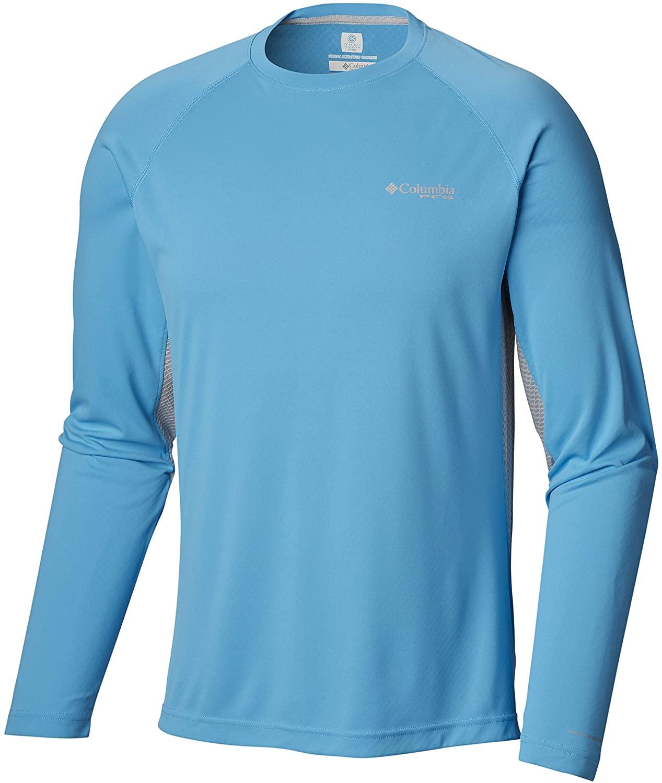 Columbia Men's Cast Away ZERO II Knit Long Sleeve Shirt, Breathable, UV Sun Protection