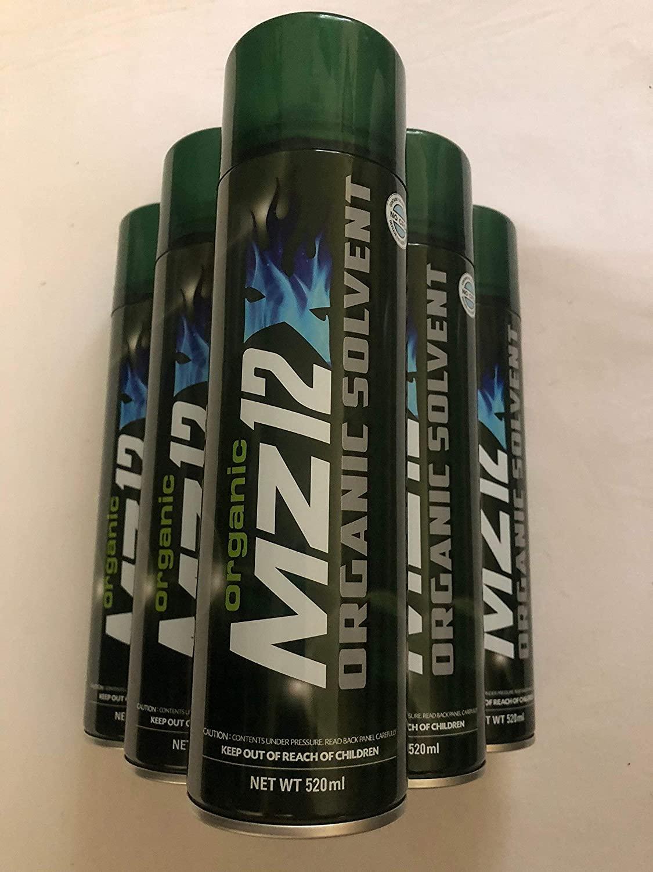 Organic Mz12X ORGANIC SOLVENT 6 Cans No CFCs