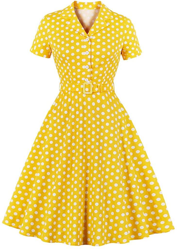 Adeliber Novelty Dresses Women Cap-Sleeves Vintage A-line Dress Swing Slim Cocktail Prom Party Dress