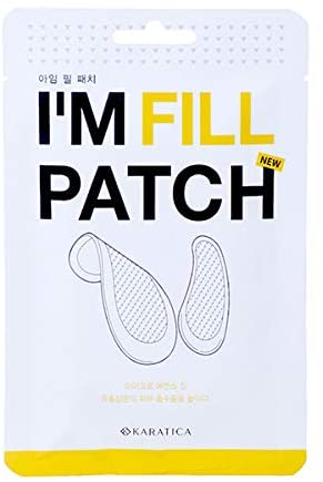 KARATICA I'm Fill Patch 4ea / Smile Lines Patch / Wrinkle Care / Band Type