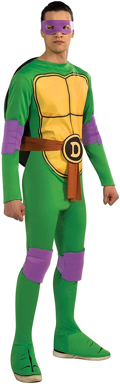 Rubies Teenage Mutant Ninja Turtles Donatello Adult Costume Jumpsuit, Standard
