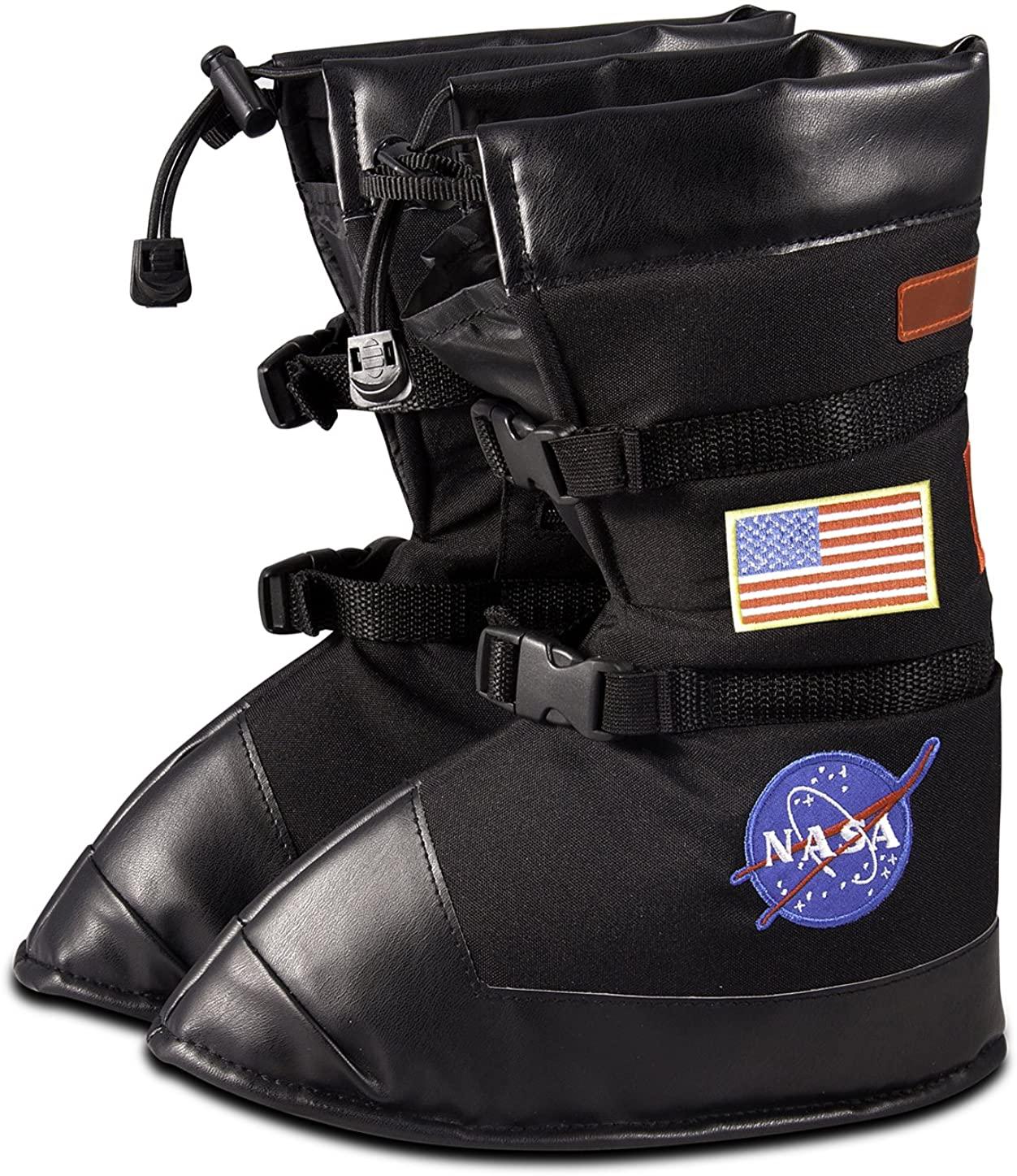 Jr. Astronaut Black Space Boots