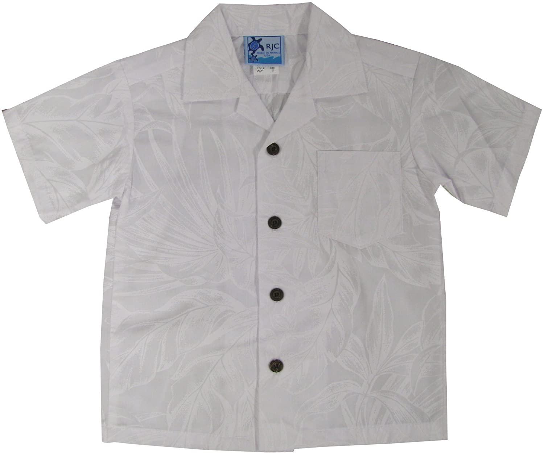 RJC Boys Summer Wedding Breeze Wedding White Shirt